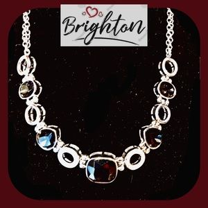 Brighton Lovable Garnet Collar Necklace